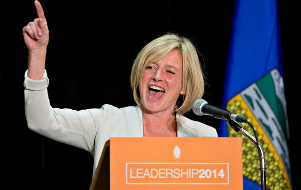 Alberta Prermier Rachel Notley (Alberta NDP/facebook)