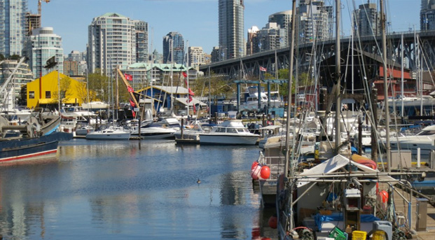 Fishermen's Wharf in Vancouver - approximate location of diesel spill (Ruth Hartnup/Flickr)