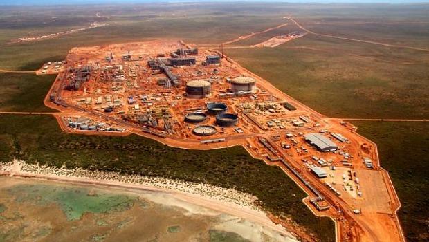 Chevron's Gorgon LNG plant in Australia (Chevron)