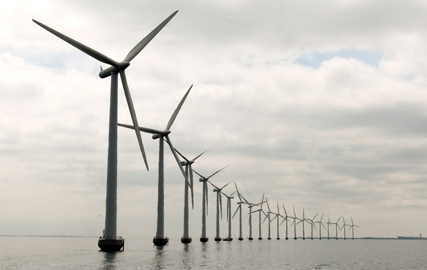 An offshore wind installation in Denmark (United Nations Photo/Flickr)