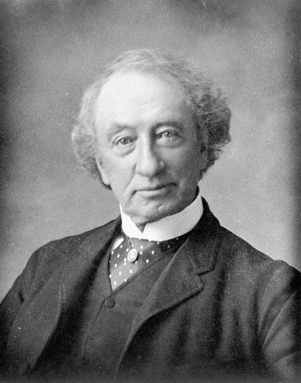 John A. Madonald, circa 1875